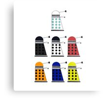 The Daleks Metal Print