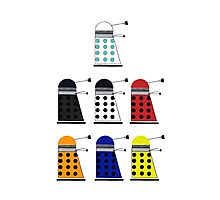 The Daleks Photographic Print