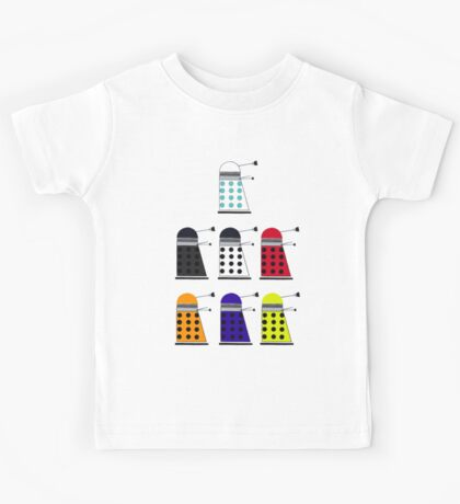 The Daleks Kids Tee