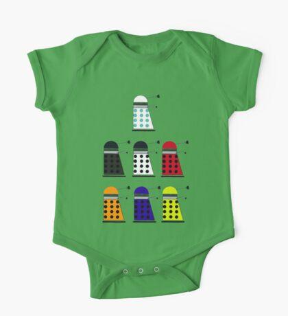 The Daleks One Piece - Short Sleeve