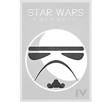 Star Wars IV: A New Hope Photographic Print