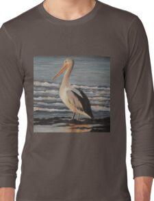 Pelican Wading  Long Sleeve T-Shirt