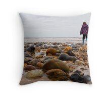 Allure of the Sea - Norfolk Coast Throw Pillow