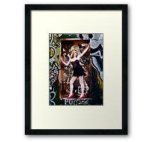 Missy De Meanour Framed Print