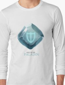 Soul of the Paladin -white Long Sleeve T-Shirt