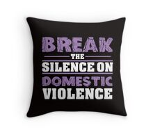 Victim shaming needs to end. Throw Pillow