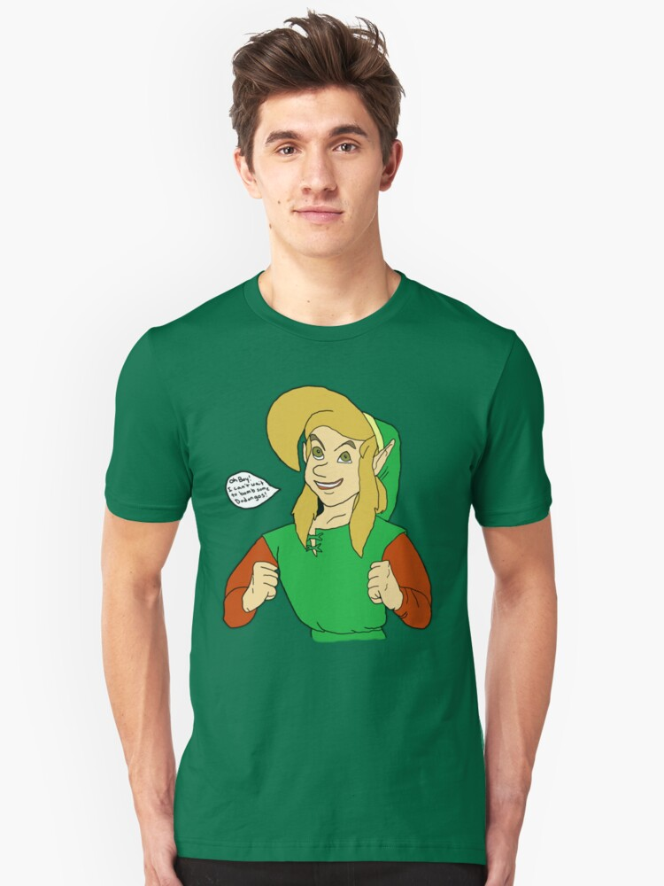Link- I Can't Wait To Bomb Some Dodongos! by helloashwee