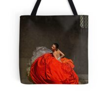 Dancer in red  Tote Bag