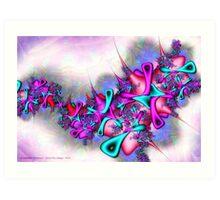 Pastel Profusion Art Print