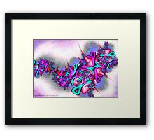Pastel Profusion Framed Print
