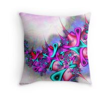 Pastel Profusion Throw Pillow