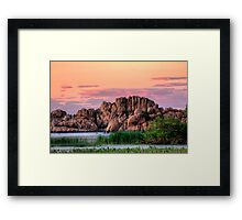 Elemental Dusk Framed Print