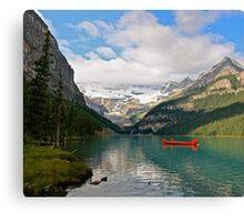 Glacial Solitude Canvas Print