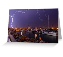 Electric Explosion Greeting Card