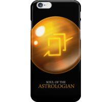 Soul of the Astrologian -black iPhone Case/Skin