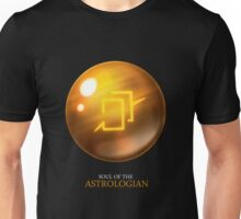 Soul of the Astrologian -black Unisex T-Shirt