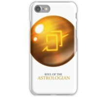 Soul of the Astrologian -white iPhone Case/Skin