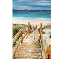 Steps To An Esperance Beach Photographic Print