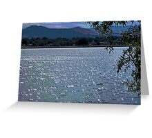 Light on the Water Mosaic Greeting Card