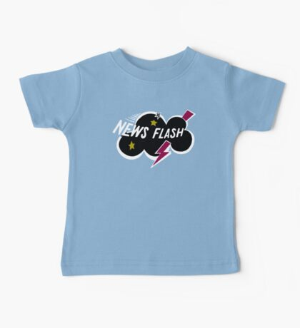 Muppet News Flash - Logo Design  Baby Tee