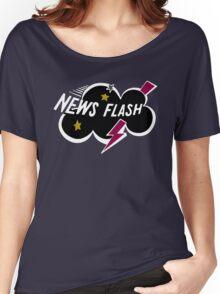 Muppet News Flash - Logo Design  Women's Relaxed Fit T-Shirt