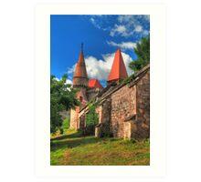 Vajdahunyadi vár II (castle)  Art Print
