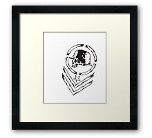 Heavy Metal Music Framed Print