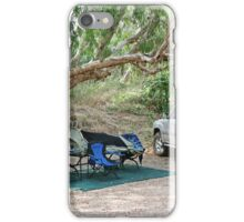Campsite on the Gregory River at Gregory, Qld iPhone Case/Skin