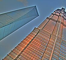 Jin Mao Tower & SWFC by Phillip Haley