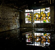 Illicit Inscriptions Reflection by BacktrailPhoto