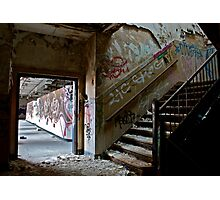 Illicit Inscriptions Staircase Photographic Print