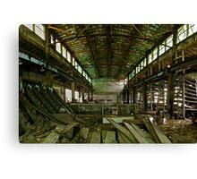 Abandoned Milwaukee Canvas Print