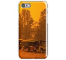 Dust Storm at St George, Qld iPhone Case/Skin