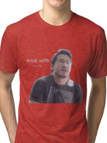 HUGE NERD Tri-blend T-Shirt