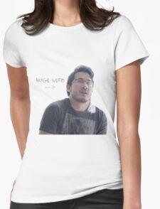 HUGE NERD Womens Fitted T-Shirt