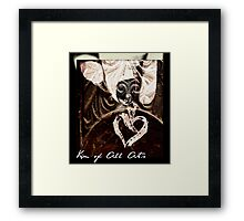 To Hold My Heart In Your Hands Framed Print