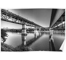 High Level Bridge - Edmonton, AB Canada Poster