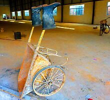 Wheel Barrow by eq29