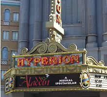 The Hyperion Theatre: Aladdin The Musical by pjwilliams12
