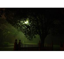 Midnight streetscape Photographic Print