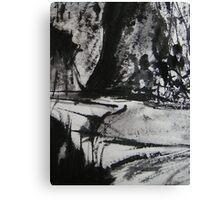dry river.... Canvas Print