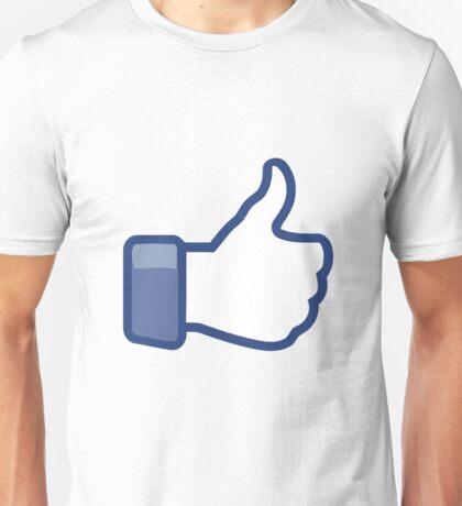 Like Button Unisex T-Shirt