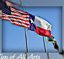 Flags in the Wind  by Kim of All Arts  (KoAA)