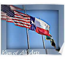 Flags in the Wind  Poster