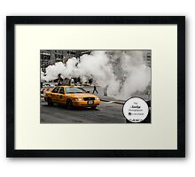 Epic Taxi Framed Print
