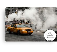 Epic Taxi Canvas Print