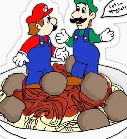 Lotsa Spaghetti! Sticker