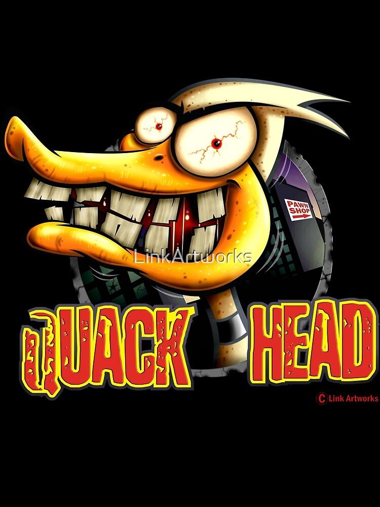 Quack Head Duck by LinkArtworks