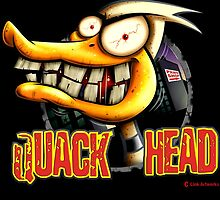 Quack Head Duck by LinkArtworks