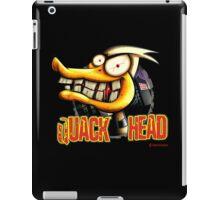 Quack Head Duck iPad Case/Skin